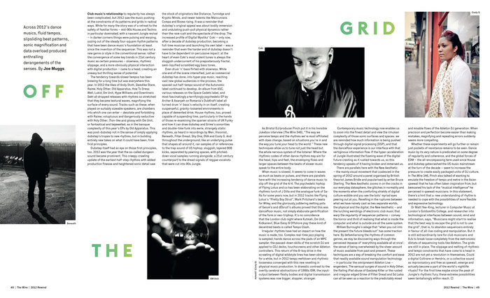 The Wire magazine, January 2013 spread