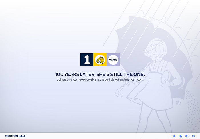 Morton Salt 100th Anniversary 2