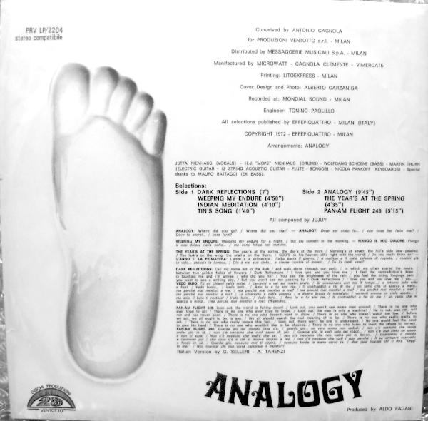 Analogy – Analogy album art 2