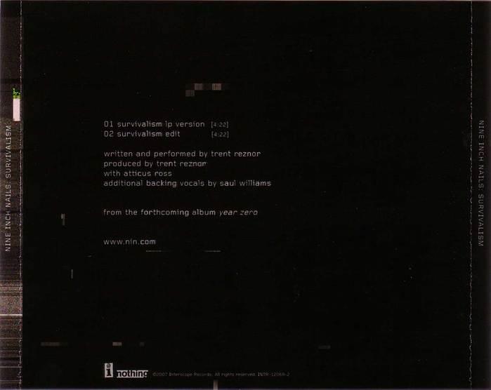 Promo CD (back)