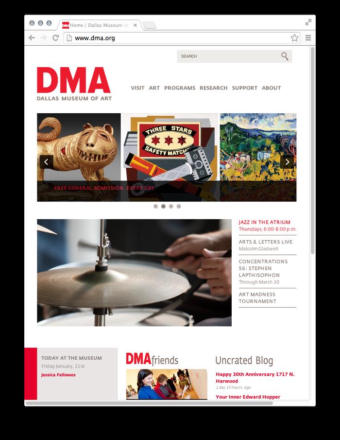 Dallas Museum of Art website 7