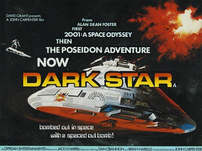 Dark Star (1974) Movie Poster