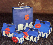 David's Deli boxes and bag