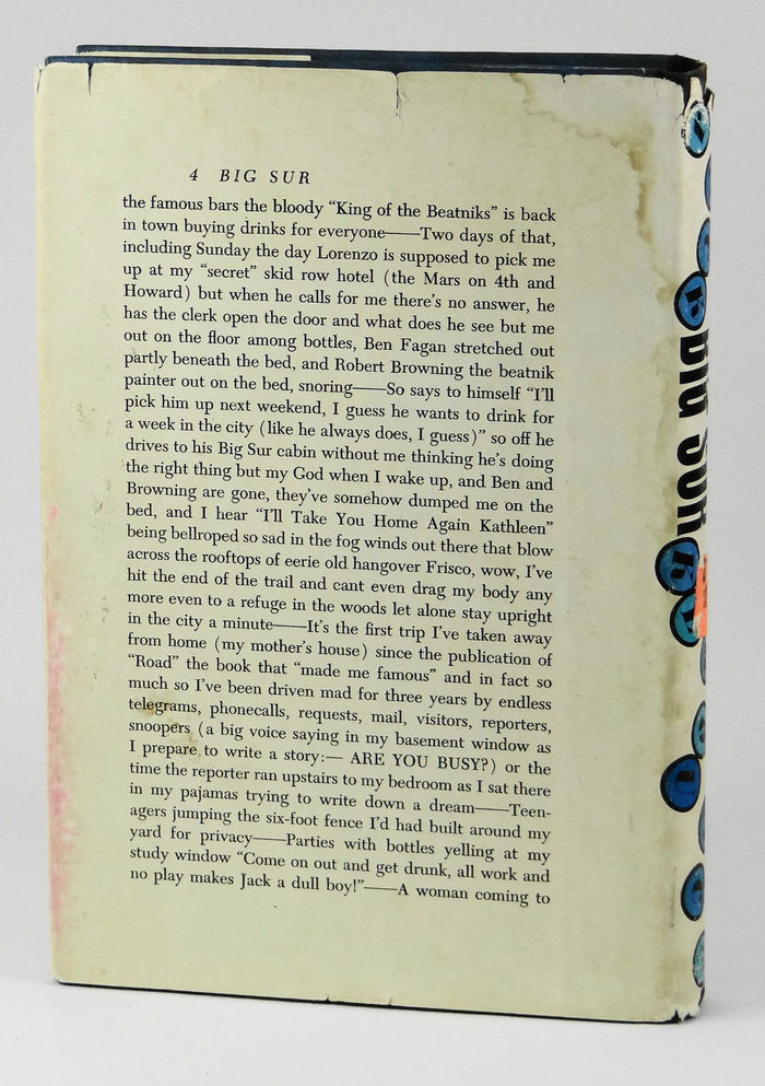 Big Sur by Jack Kerouac, first edition 2