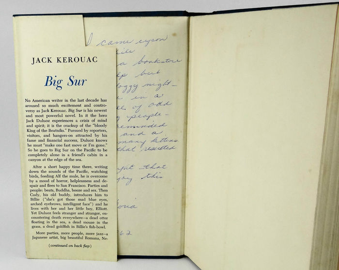 Big Sur by Jack Kerouac, first edition 6