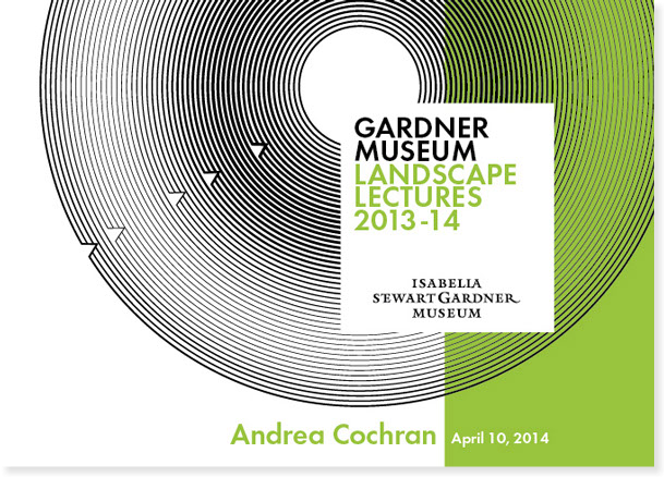 Gardner Museum Landscape Lectures 4