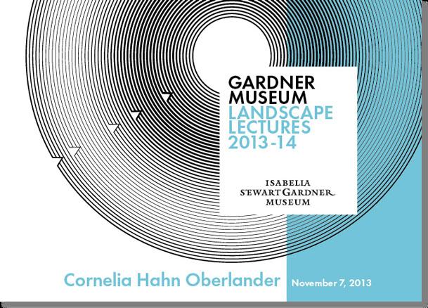 Gardner Museum Landscape Lectures 6