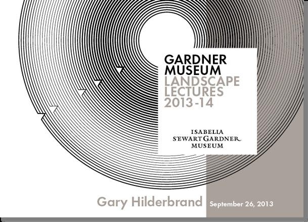 Gardner Museum Landscape Lectures 7