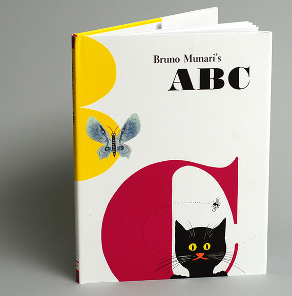 Bruno Munari's ABC, first edition and Chronicle Books edition 1