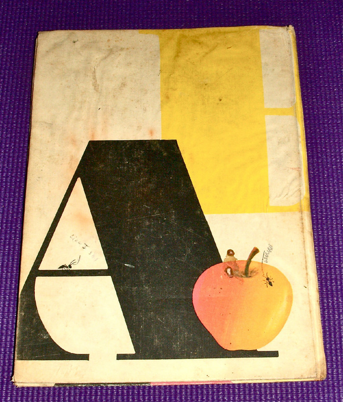 Bruno Munari's ABC, first edition and Chronicle Books edition 6
