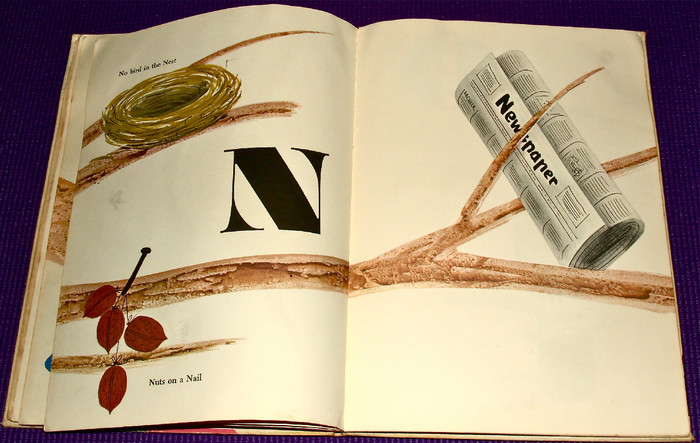 Bruno Munari's ABC, First Edition and Chronicle Books Edition 9