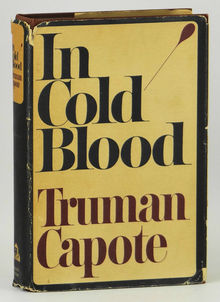 <cite>In Cold Blood</cite>, 1965 first edition