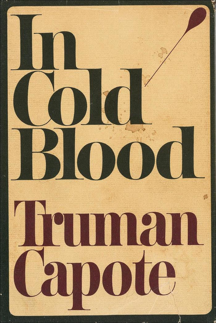 In Cold Blood, 1965 first edition 8