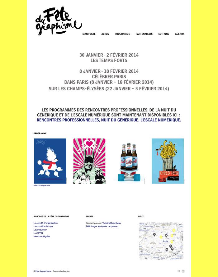 Fête du Graphisme design festival 5