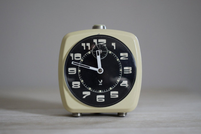 Vintage French Jaz alarm clock 1