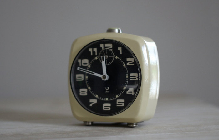 Vintage French Jaz alarm clock 2