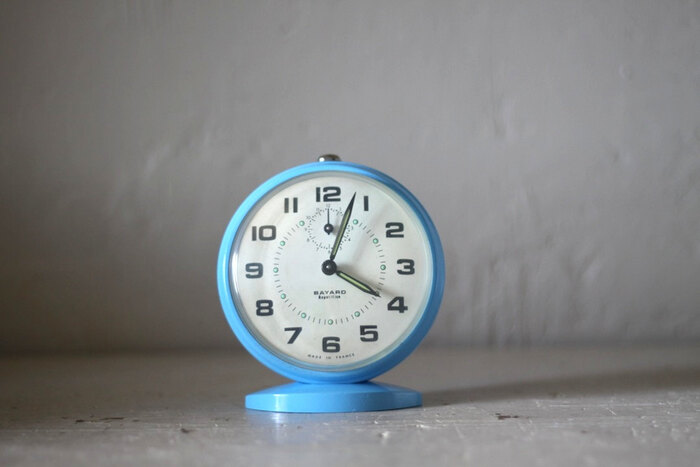 Vintage French Bayard Alarm Clock