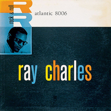 Ray Charles – <cite>Ray Charles</cite> album art, Atlantic Records