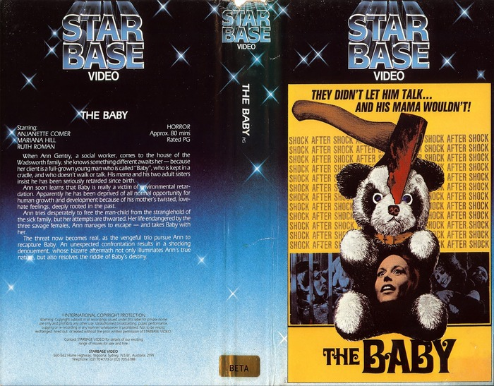 The Baby movie poster 3