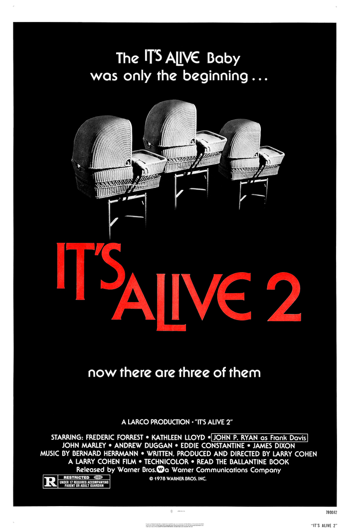 It's Alive and It's Alive 2 movie posters 2