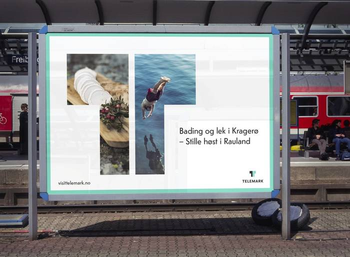 The identity is packed with templates and example-usage, including billboards, ads, business cards and editorial design – both digital and in print.