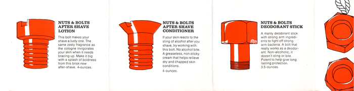 Nuts & Bolts Men's Toiletries 5