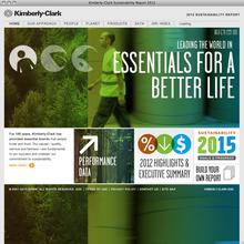 Kimberly-Clark Sustainability Report 2012