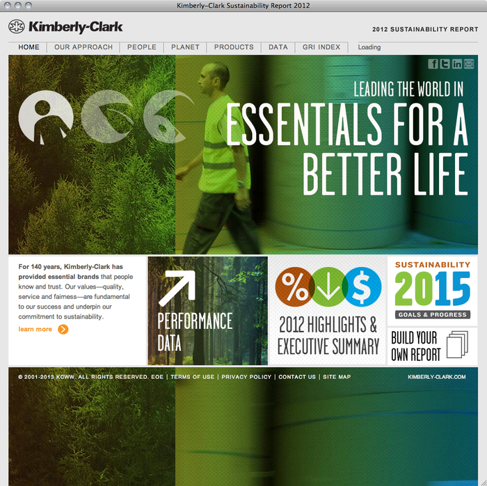 Kimberly-Clark Sustainability Report 2012 1