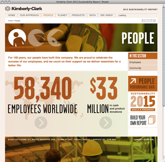Kimberly-Clark Sustainability Report 2012 2