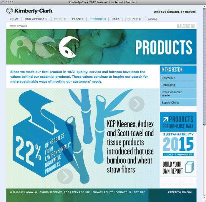 Kimberly-Clark Sustainability Report 2012 4