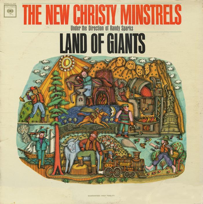 The New Christy Minstrels – Land of Giants album art