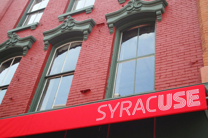 Logotype for the Syracuse Connective Corridor