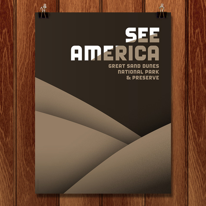 See America posters by Luis Prado 1