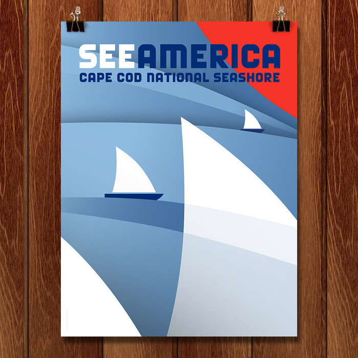 See America posters by Luis Prado 2