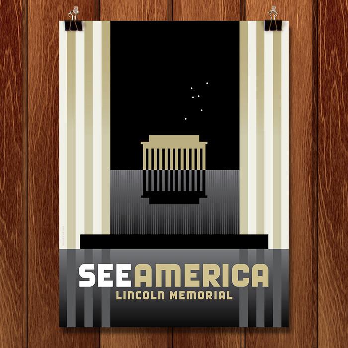 See America posters by Luis Prado 4