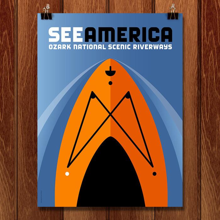 See America posters by Luis Prado 6