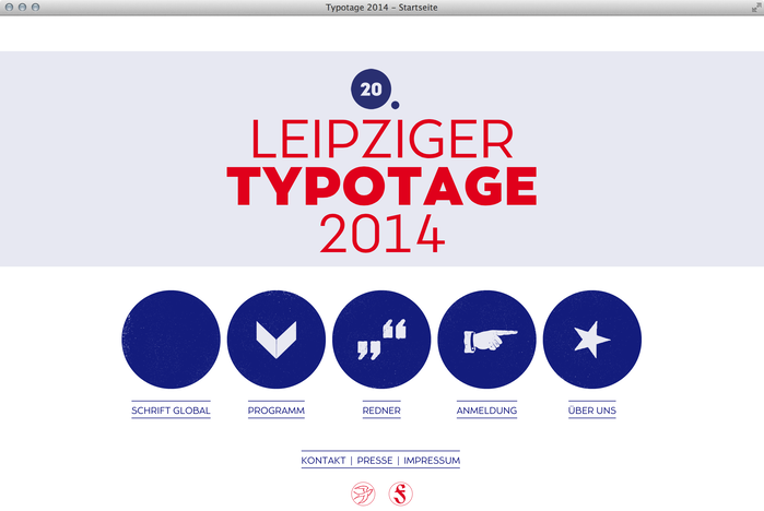 Leipziger Typotage 2014 website 1