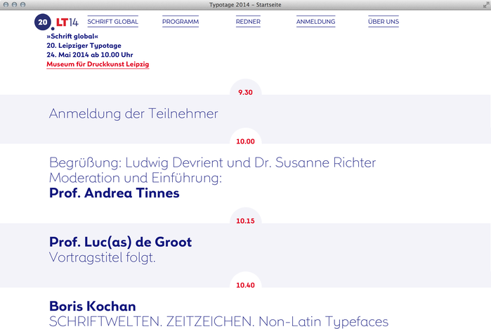 Leipziger Typotage 2014 website 3
