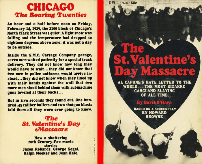 The St. Valentine's Day Massacre by Boris O'Hara, Dell Books 1