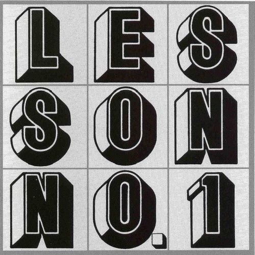 Glenn Branca – Lesson No. 1 album art 1
