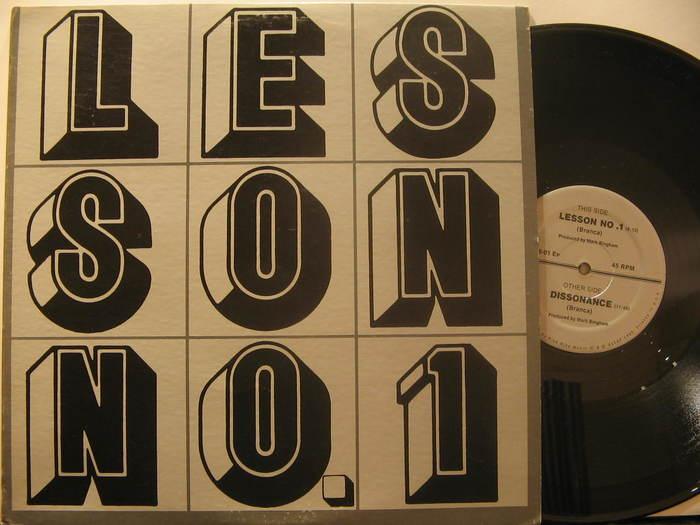 Glenn Branca – Lesson No. 1 album art 2