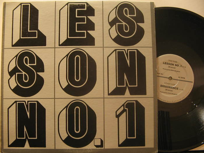 Lesson No. 1 by Glenn Branca 2