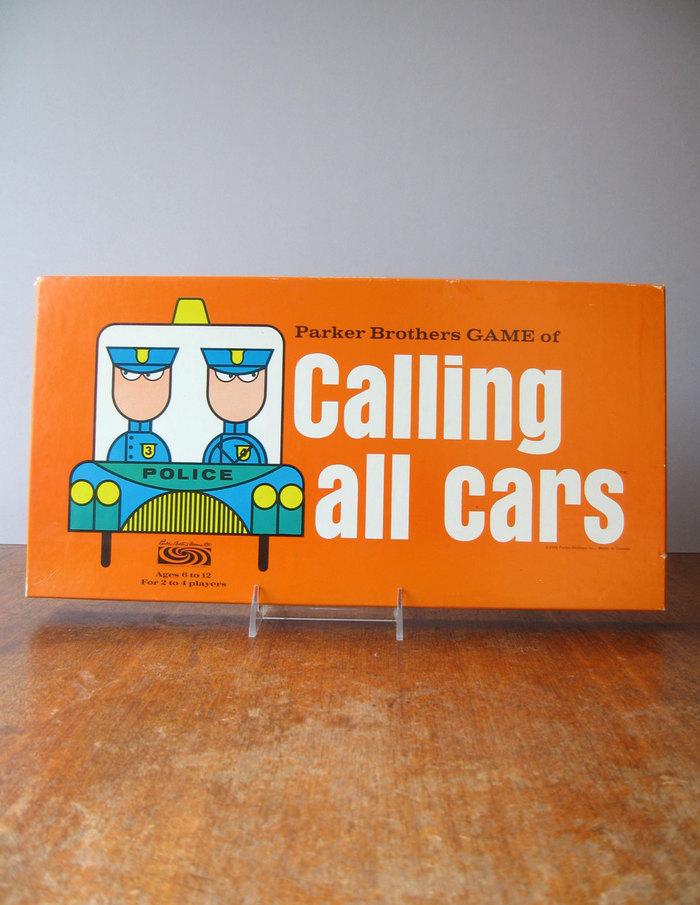 Calling All Cars board game, 3rd edition 1