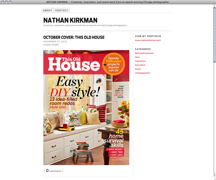 Nathan Kirkman website 5
