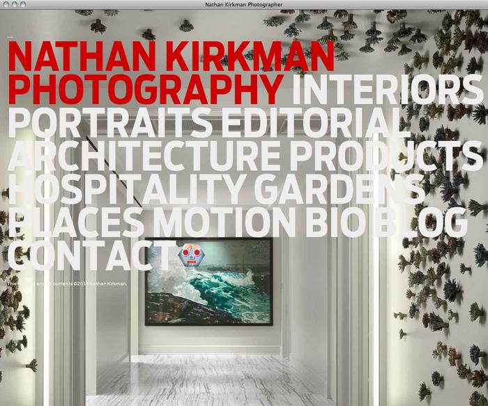 Nathan Kirkman website 6