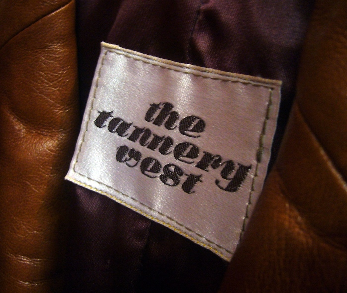 The Tannery West label