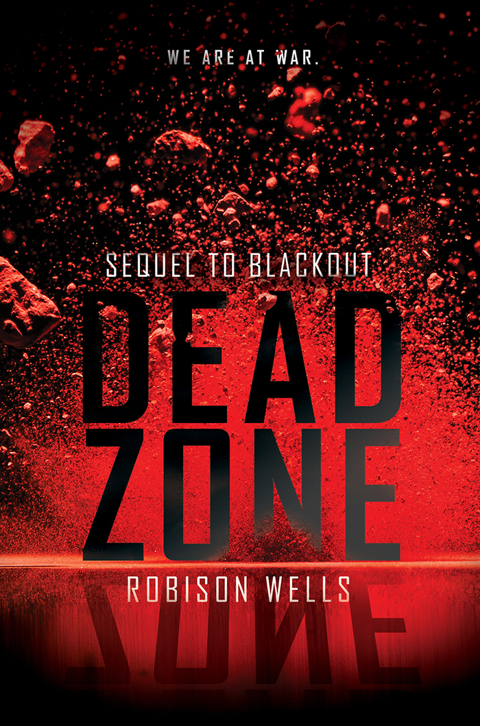 Going Dark, Blackout, Dead Zone book covers 2