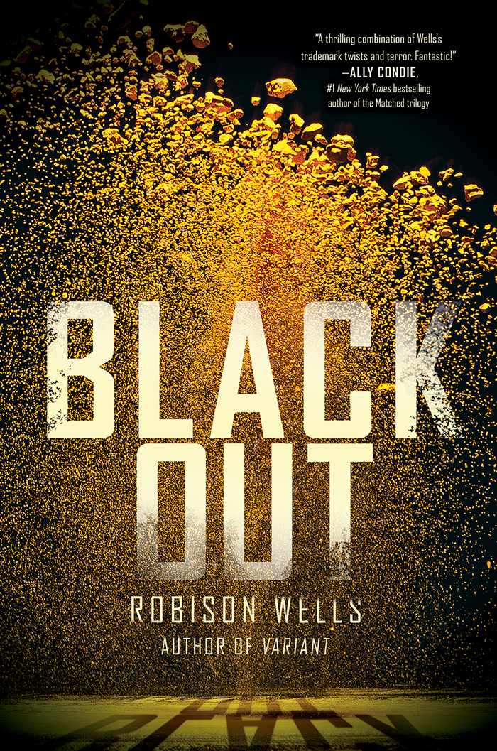 Going Dark, Blackout, Dead Zone book covers 3