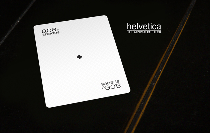 The Minimalist Deck: Helvetica 1