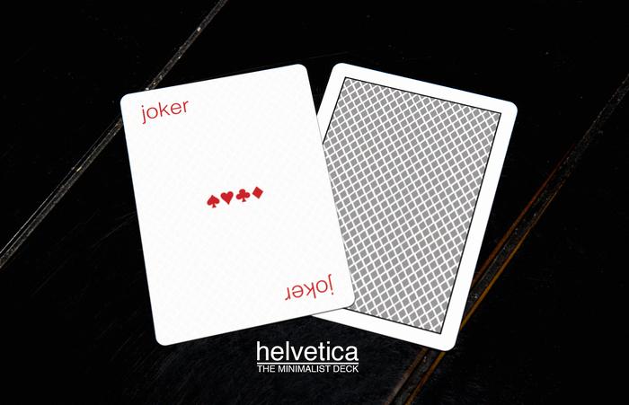 The Minimalist Deck: Helvetica 2